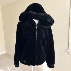 Gallery Faux Fur Coat